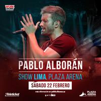 PABLO ALBORAN- PROMETO EDICION ESPECIAL PLAZA ARENA - SANTIAGO DE SURCO - LIMA