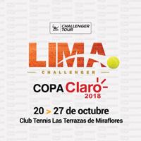 LIMA CHALLENGER COPA CLARO 2018 CLUB TENNIS LAS TERRAZAS DE MIRAFLORES - MIRAFLORES - LIMA