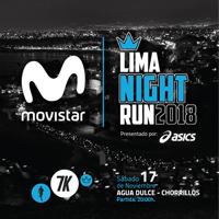MOVISTAR LIMA NIGHT RUN PLAYA AGUA DULCE CHORRILLOS - LIMA