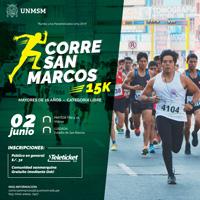 CORRE SAN MARCOS 15K PARTIDA LA VIDENA - LIMA