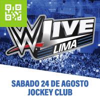 WWE LIVE JOCKEY CLUB DEL PERU - LIMA