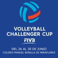 VOLLEYBALL CHALLENGER CUP COLISEO MANUEL BONILLA - MIRAFLORES - LIMA