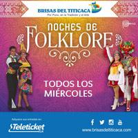 MIÉRCOLES NOCHES DE FOLKLORE 2018 BRISAS DEL TITICACA - LIMA