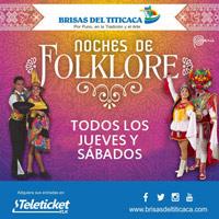 JUEVES - SABADO NOCHES DE FOLKLORE  BRISAS 2018 BRISAS DEL TITICACA - LIMA