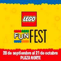 LEGO FUN FEST- FREE DAY MALL PLAZA NORTE - LIMA