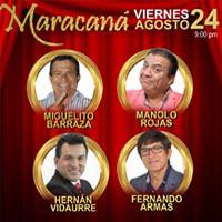 LA SUPER NOCHE DE LAS ESTRELLAS MARACANA CENTRO DE CONVENCIONES - LIMA