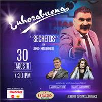 ENHORABUENA SECRETOS CON JORGE HENDERSON ESTACION DE BARRANCO - BARRANCO - LIMA