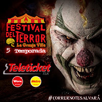 Entradas Festival Del Terror 2018 La Granja Villa Sur Chorrillos