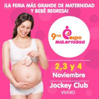EXPO MATERNIDAD LIMA - 9NA EDICIÓN 2018 CENTRO DE CONVENCIONES JOCKEY CLUB VIVERO - SANTIAGO DE SURCO - LIMA
