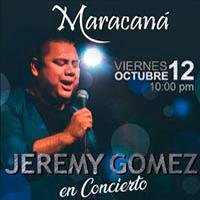 JEREMY GOMEZ EN CONCIERTO MARACANA CENTRO DE CONVENCIONES - JESUS MARIA - LIMA