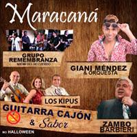GUITARRA CAJON & SABOR MARACANA CENTRO DE CONVENCIONES - LIMA