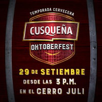 CUSQUEÑA OKTOBERFEST- AREQUIPA CERRO JULI - AREQUIPA