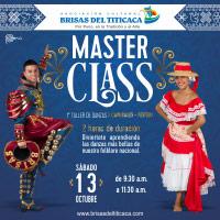 I MASTER CLASS BRISAS DEL TITICACA - CAPORALES BRISAS DEL TITICACA ASOCIACION CULTURAL - LIMA