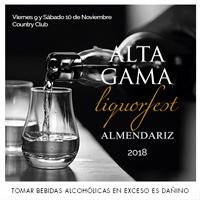 ALTA GAMA LIQUORFEST ALMENDARIZ COUNTRY CLUB LIMA HOTEL - SAN ISIDRO - LIMA