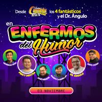 LOS ENFERMOS DEL HUMOR AUDITORIO MUNICIPAL DE LOS OLIVOS - LOS OLIVOS - LIMA