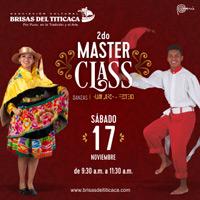 II MASTER CLASS  BRISAS DEL TITICACA BRISAS DEL TITICACA ASOCIACION CULTURAL - LIMA