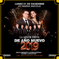 LA MEJOR FIESTA DE AÑO NUEVO 2019 CC. MARIA ANGOLA - MIRAFLORES - LIMA