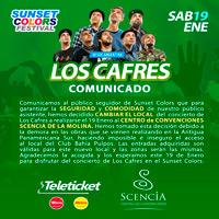 CAFRES SUNSET COLORS EXPLANADA BAHIA PULPOS - LIMA