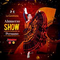 ALMUERZO SHOW PERUANO 2018 LA CANDELARIA - BARRANCO - LIMA