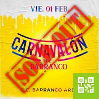 CARNAVALÓN DE BARRANCO PINTURA Y ESPUMA CENTRO DE CONVENCIONES BARRANCO ARENA - BARRANCO - LIMA