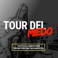 TOUR DEL MIEDO 2019 ESQUINA DE LA CASA MATUSITA - LIMA