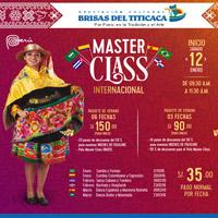 MASTER CLASS INTERNACIONAL - BRISAS DEL TITICACA BRISAS DEL TITICACA ASOCIACION CULTURAL - LIMA