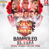 SALSA CON AMOR BAMBOLEO DE CUBA DISCOTECAS COCO'S - LIMA