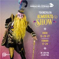 ALMUERZO SHOW DOMINGOS BRISAS DEL TITICACA BRISAS DEL TITICACA ASOCIACION CULTURAL - LIMA