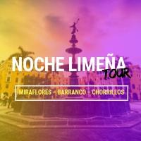 TOUR NOCTURNO - NOCHE LIMEÑA ESQUINA DE LA CASA MATUSITA. - LIMA