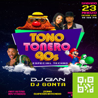 TONO TONERO 90S ESPECIAL TECHNO CENTRO DE CONVENCIONES COCOS - LINCE - LIMA