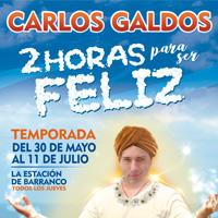 2 HORAS PARA SER FELIZ - CARLOS GALDOS ESTACION DE BARRANCO - BARRANCO - LIMA