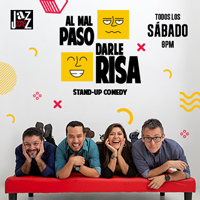 """A MAL PASO DARLE RISA"" Stand Up Comedy JAZZ ZONE DE MIRAFLORES - MIRAFLORES - LIMA"