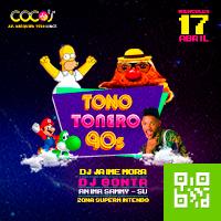 TONO TONERO 90S |  EDICIÓN SEMANA SANTA CENTRO DE CONVENCIONES COCOS - LINCE - LIMA