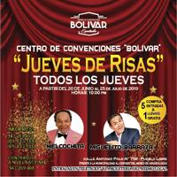 JUEVES DE RISAS CENTRO DE CONVENCIONES BOLIVAR - PUEBLO LIBRE (MAGDAL - LIMA