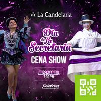 DIA DE LA SECRETARIA CENA SHOW LA CANDELARIA - BARRANCO - LIMA
