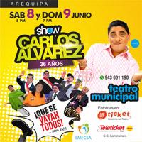 CARLOS ALVAREZ QUE SE VAYAN TODOS..PERO YA!! TEATRO MUNICIPAL DE AREQUIPA - AREQUIPA