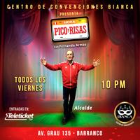 FERNANDO ARMAS HORA PICO Y RISAS CENTRO DE CONVENCIONES BIANCA - BARRANCO - LIMA