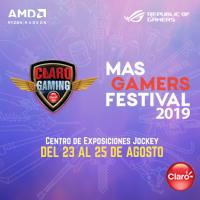 CLARO MASGAMERS FESTIVAL 2019 CENTRO DE EXPOSICIONES JOCKEY - LIMA
