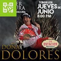 DOÑA DOLORES MUJER MADURA DIVERSION SEGURA ESTACIÓN DE BARRANCO - BARRANCO - LIMA