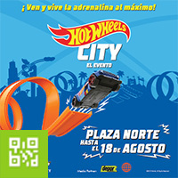 HotWheels City -  El Evento PLAZA NORTE, SHOPPING CENTER - LIMA