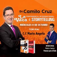 CAMILO CRUZ LA VACA - STORY TELLING C.C MARÍA ANGOLA - MIRAFLORES - LIMA