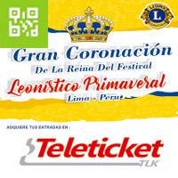 CORONACION DE LA REINA DEL FESTIVAL INTERNACIONAL GRAN MARACANA - JESUS MARIA - LIMA