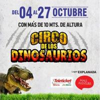 CIRCO DE LOS DINOSAURIOS - AREQUIPA EXPLANADA C.C. MALL AVENTURA -AREQUIPA - AREQUIPA