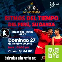RITMOS DEL TIEMPO ALMUERZO SHOW LA CANDELARIA - BARRANCO - LIMA