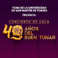 40 AÑOS DE BUEN TUNAR TEATRO MUNCIPAL DE LIMA - LIMA