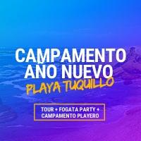 CAMPAMENTO DE AÑO NUEVO PLAYA TUQUILLO 2020 SELECCIONE PUNTO DE EMBARQUE - LIMA