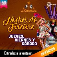 JUEVES, VIERNES Y SABADO NOCHES DE FOLCLOR 2020 LA CANDELARIA - BARRANCO - LIMA