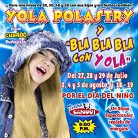 YOLA POLASTRY Y BLA, BLA, BLA CON YOLA TEATRO CANOUT - MIRAFLORES - LIMA