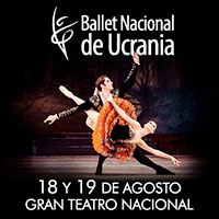 BALLET NACIONAL DE UCRANIA GRAN TEATRO NACIONAL - SAN BORJA - LIMA