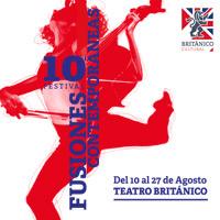 FESTIVAL DE FUSIONES CONTEMPORÁNEAS 2018 TEATRO BRITANICO - MIRAFLORES - LIMA